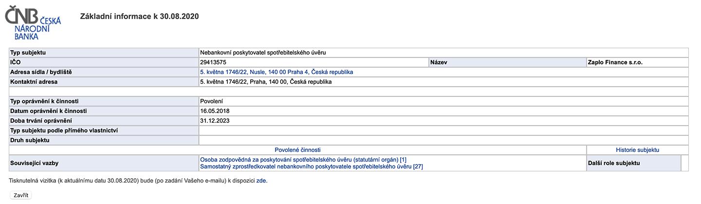 Krok 5. z webu cnb.cz