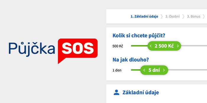 Novinka: Oblíbená Půjčka SOS nyní nabízí možnost zažádat o.
