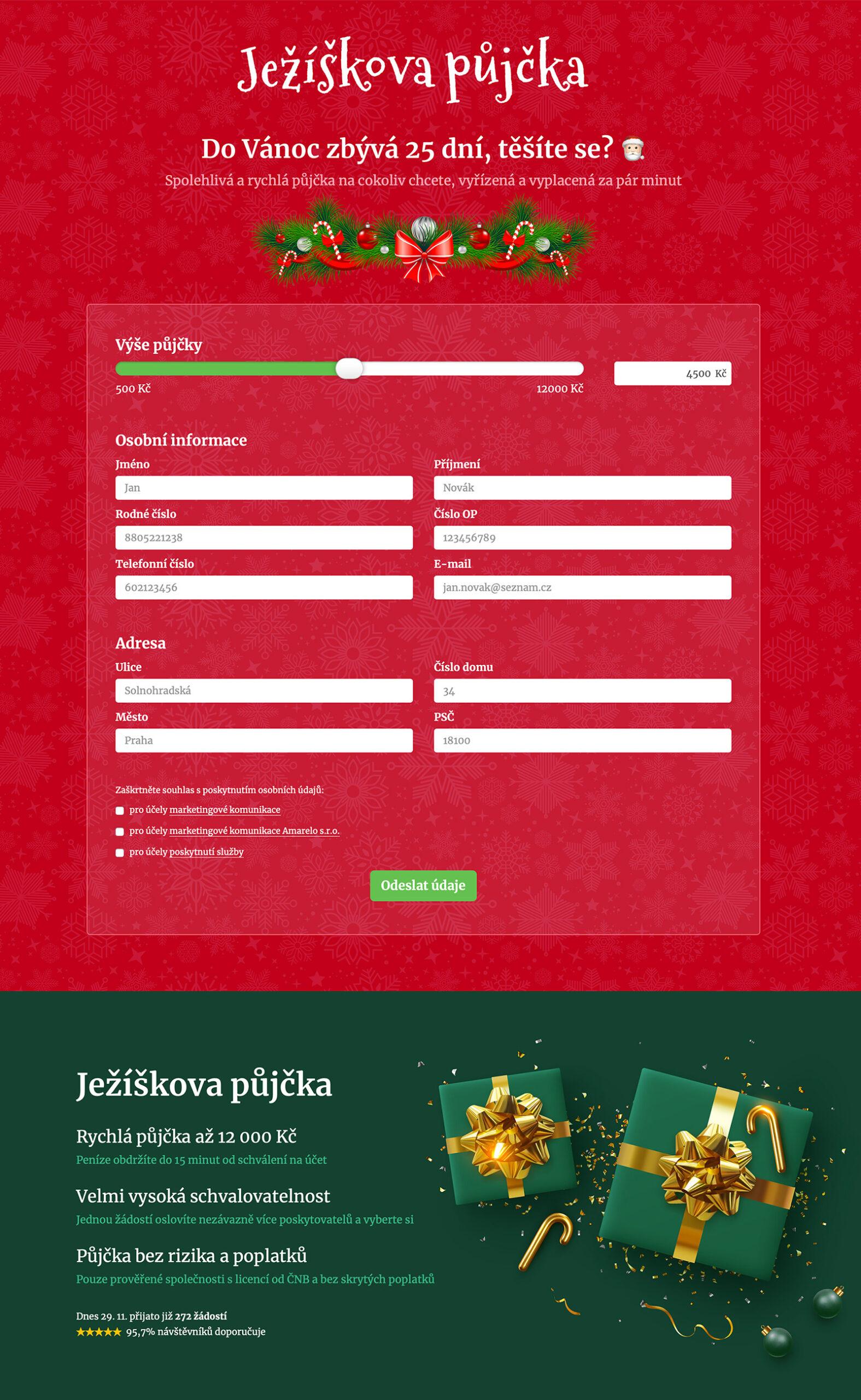 www.jeziskovapujcka.cz