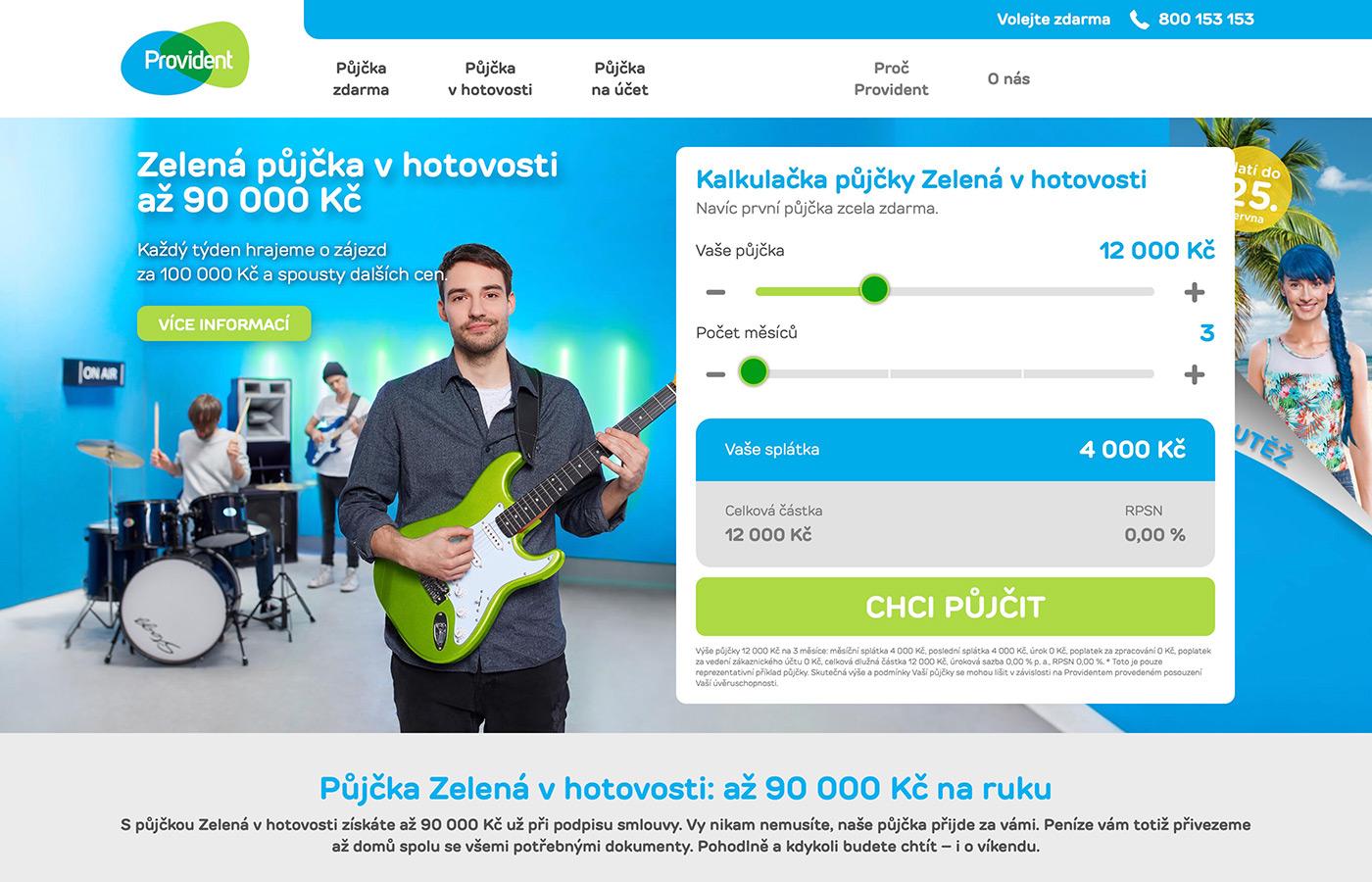 Náhled webu https://www.provident.cz/pujcky/pujcka-v-hotovosti